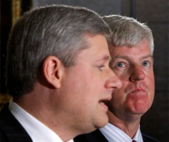 Stephen Harper and John Manley (Afghanistan war architects)