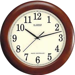 Lacrosse WT-3122A Analog atomic wall clock