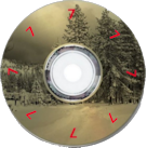 multidirectional CD Label