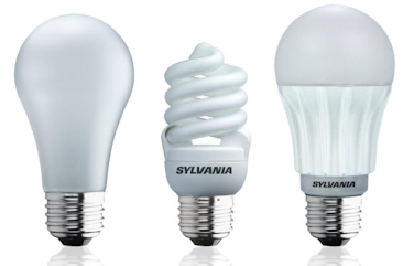 types of light bulb