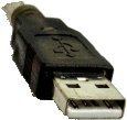 USB2-A male connector