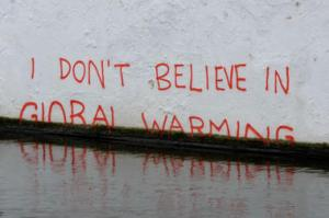 Global warming denial