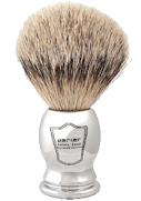 Parker chrome badger shave brush