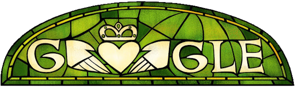 Google Doodle for St. Patrick's Day