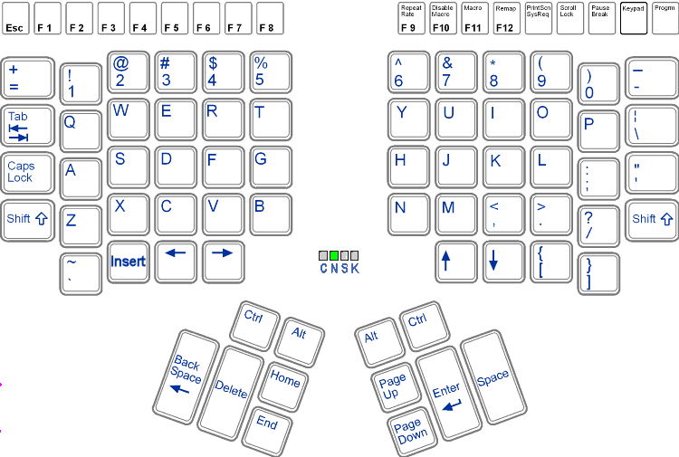 qwerty_layout_of_kinesis_keyboard