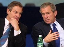 Blair and Bush