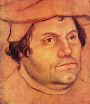 Martin Luther, founder of protestantism