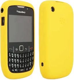 Yellow BlackBerry Curve