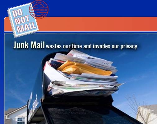 Fight junk mail.