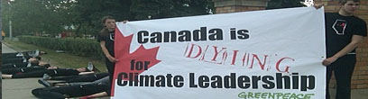 Canadian climate leadership