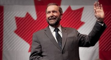 Help Thomas Mulcair of the New Democratic Party stop Harper from trashing the environment.