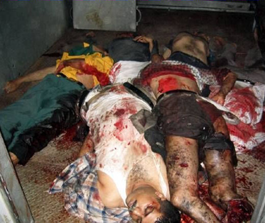 Afghans killed by your tax dollars